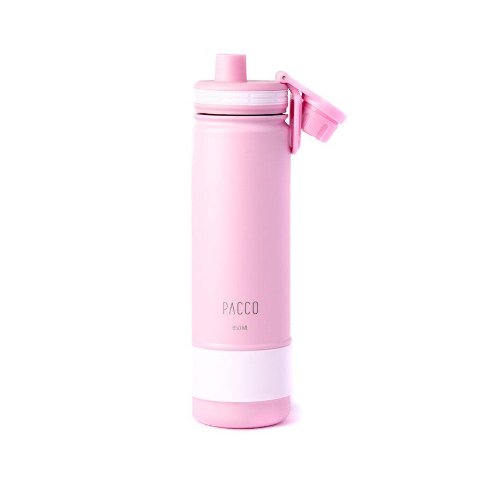 Garrafa Térmica Pacco Hydra Bottle 650ml Rose
