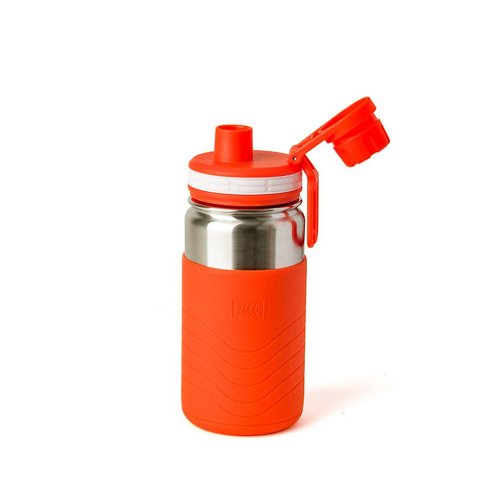 Garrafa Térmica Pacco Hydra Bottle Kids Laranja 350ml