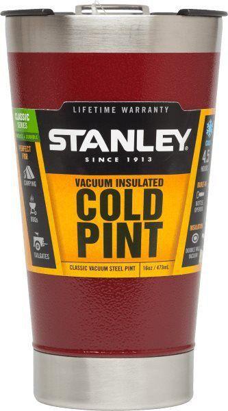 Kit Copos Cerveja Gelada Stanley Vermelho