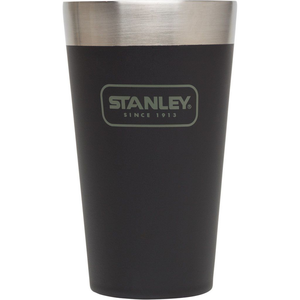 Kit Growler e Copo Cerveja Gelada Stanley Preto Fosco