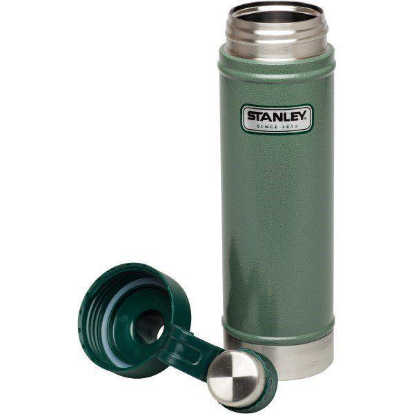 Kit Garrafa Térmica Stanley Hydration Verde 750ml