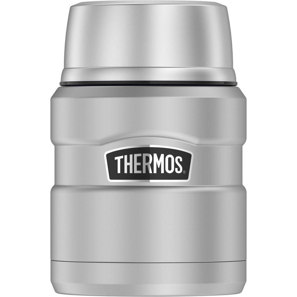 Pote Térmico Thermos Everest com Colher Prata 470ml