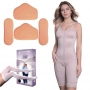 Kit 2 Cintas New Form 60401 2 Placas Abdômen e 1 par Placa Laterais + Meia 7/8 Venosan