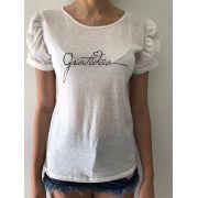 Camiseta Feminina - Gratidão