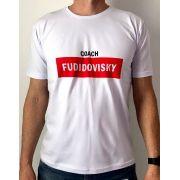 Camiseta Masculina - Coach Fudidóvisky Branca
