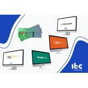 Combo - Formações - 4 Formações à escolha +  Bônus (FAC Online + FAC Experience + LCT Online + Speaker Online)