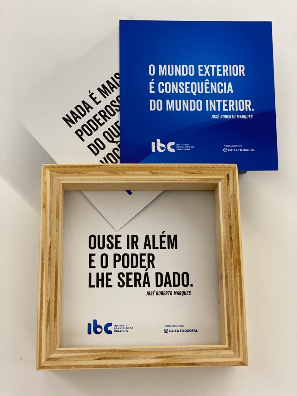 Box Card - Caixa Filosofal (Com frases de José Roberto Marques)