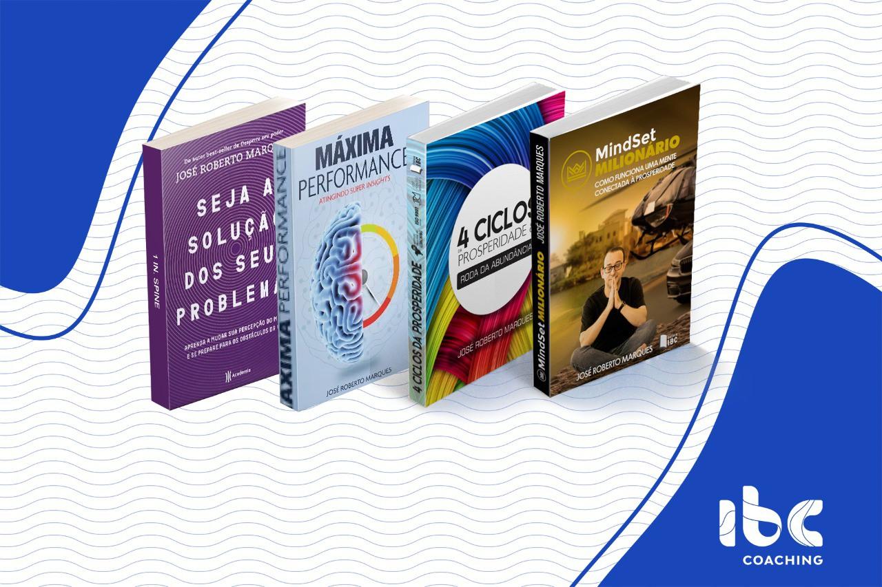 Combo (1) - 4 Livros - Transformação Pessoal - À Vista