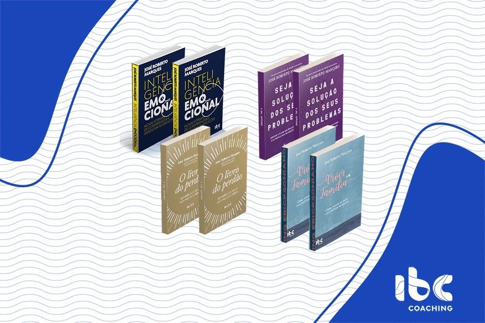 Combo 2 - 8 livros - IE e Superação de Crises - Em até 12x