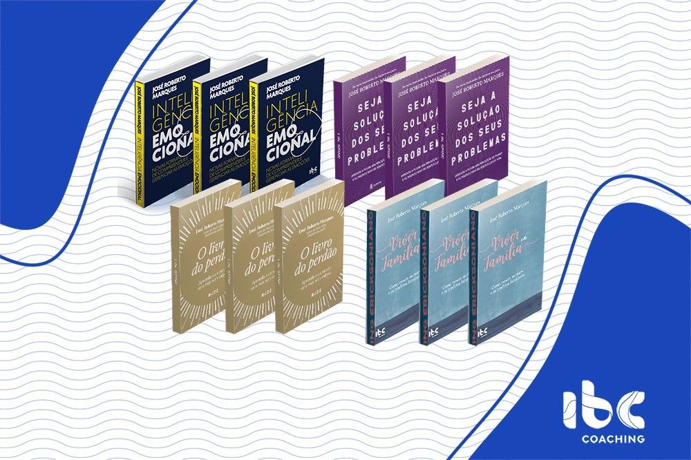 Combo 3 - 12 livros - IE e Superação de Crises - Em até 12x