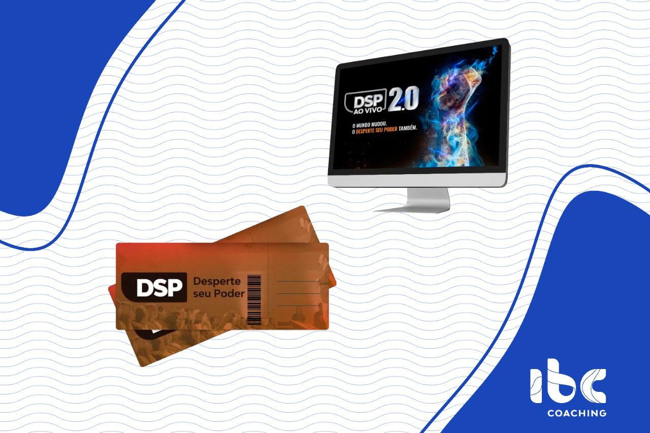 COMBO - DSP 2.0 Online e Ao Vivo (15 a 19 de Julho) + DSP Presencial - Em até 12x