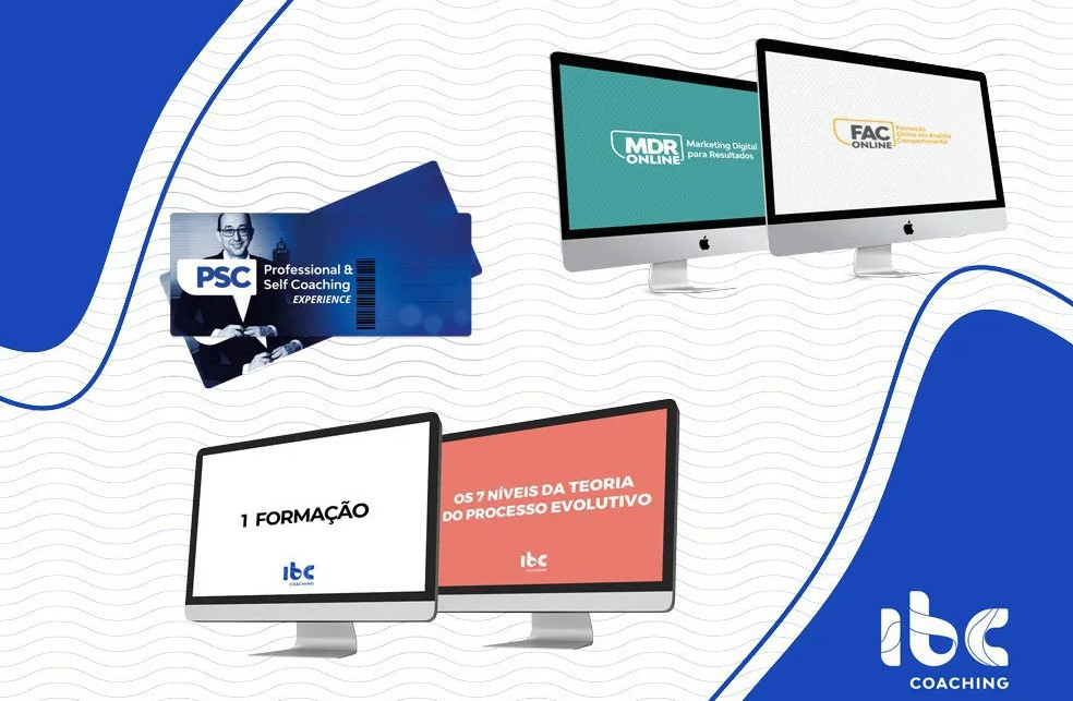 Combo - Poder do Propósito - PSC ou Formação Online + PSC Experience + MDR Online + FAC Online + 7 Níveis Online