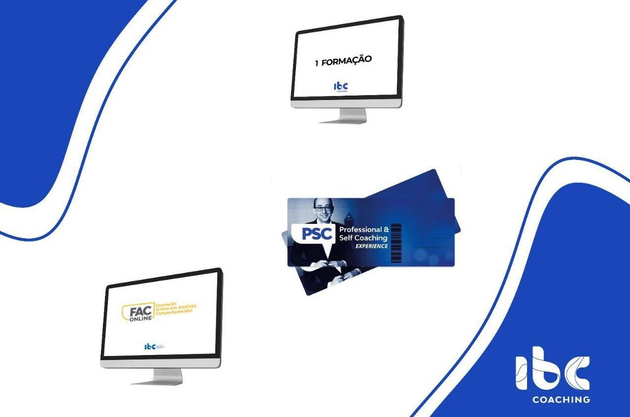 COMBO - PSC Online OU 1 Formação Online à Escolha + Bônus (PSC Experience + FAC Online + 1 crédito de Assessment)