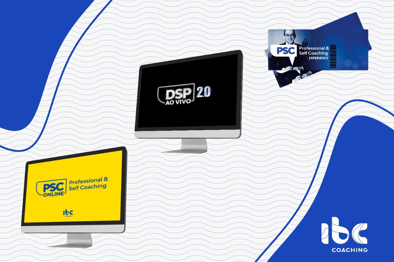Combo - PSC Online - Professional Self Coaching Online + Bônus DSP 2.0 Ao vivo (10 a 14 de Junho) + PSC Experience