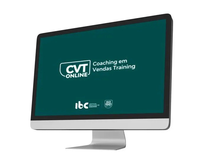 CVT Online - Coaching em Vendas Training Online - À vista