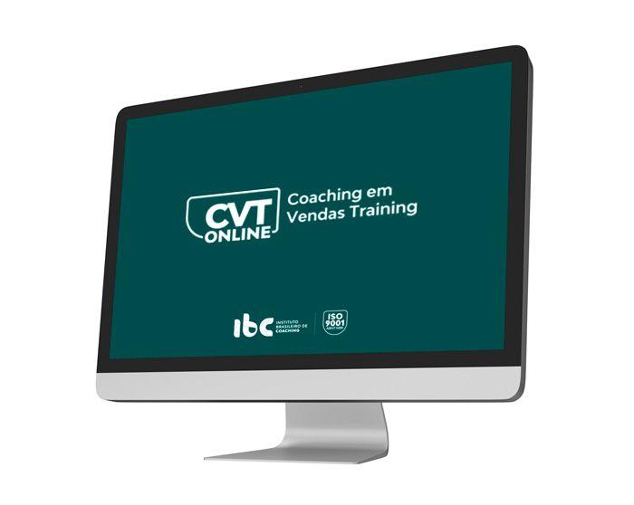 CVT Online - Coaching em Vendas Training Online - A Vista