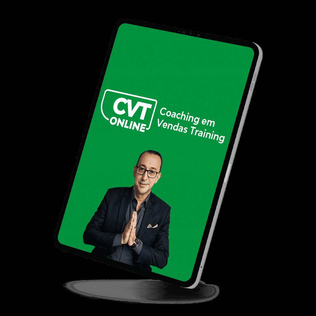 CVT Online - Coaching em Vendas Training Online - Em até 12x