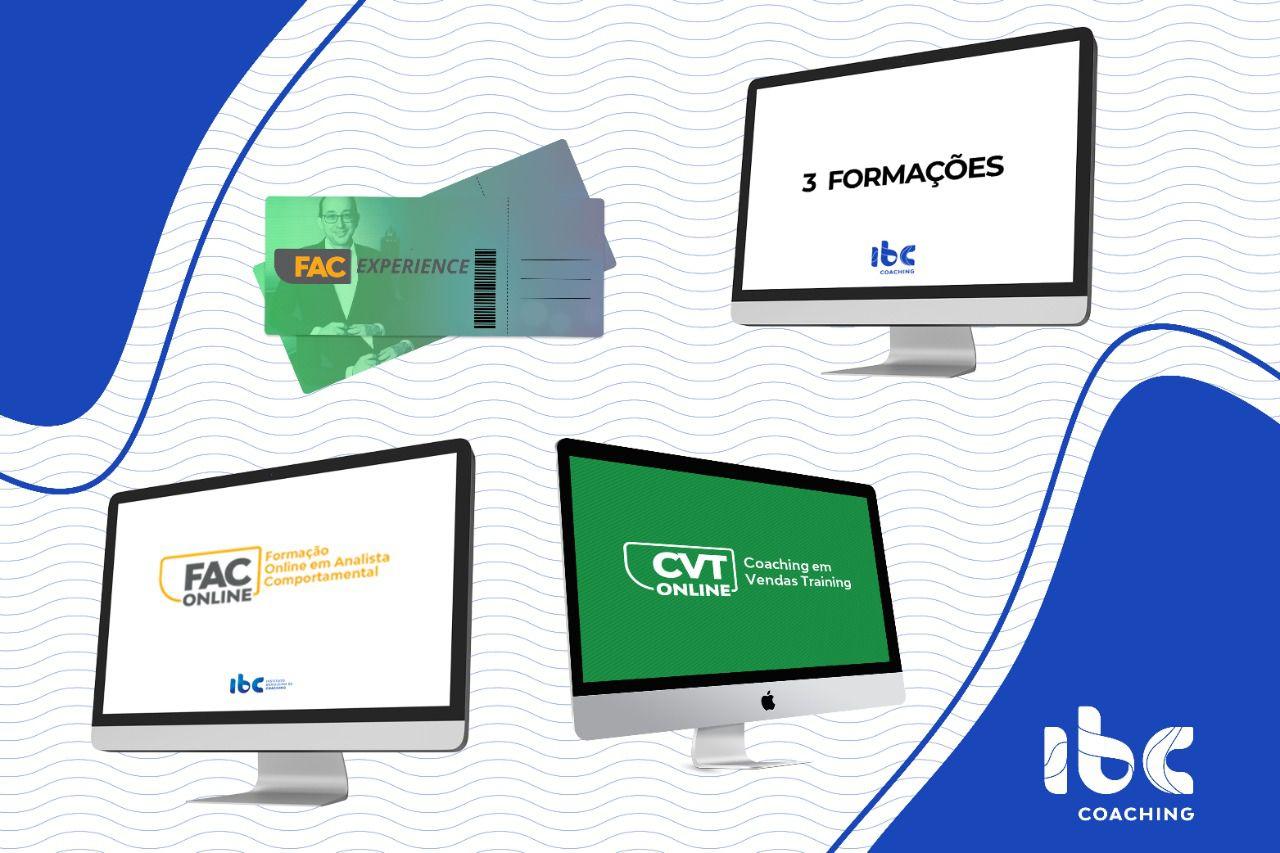 MBA/PÓS Online - 3 Formações + FAC Online + FAC Experience + CVT Online