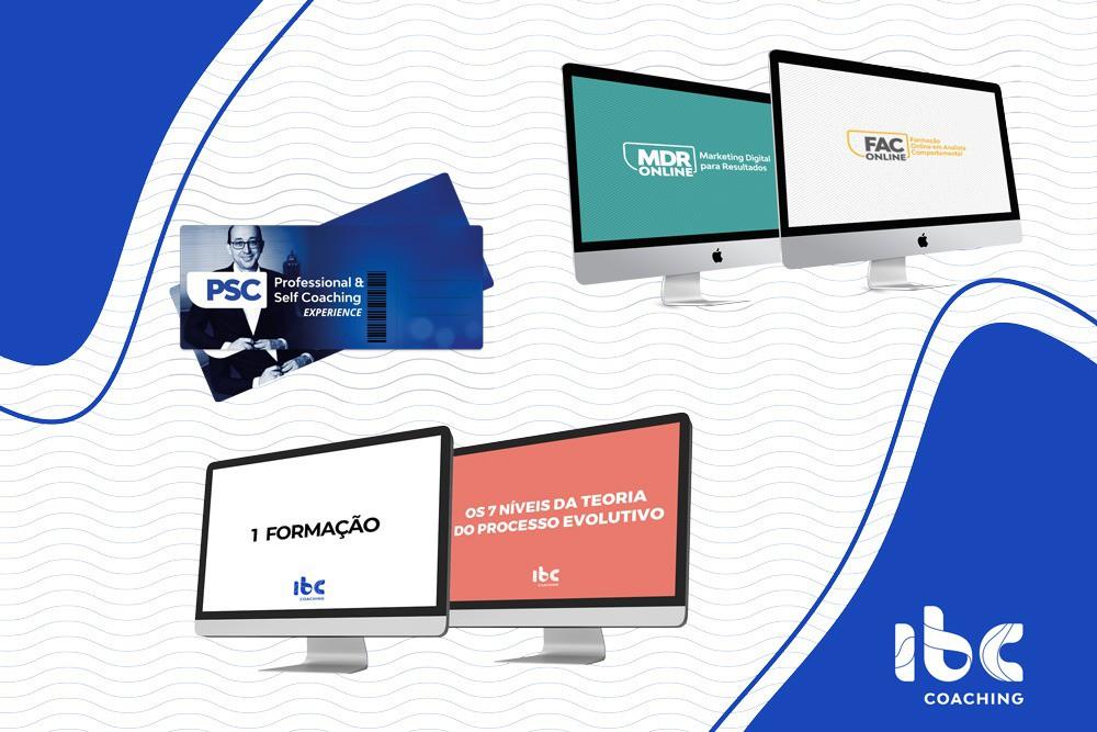 PSC Online ou Formação à escolha + Bônus PSC Experience + MDR Online + FAC Online + 7 Níveis Online