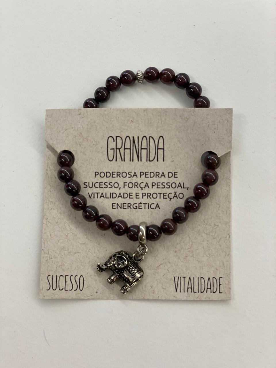 Pulseira Granada - Sucesso e Vitalidade