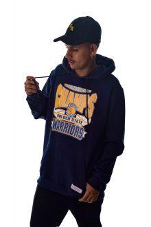 Blusa Moletom Golden State Warriors NBA Mitchell & Ness