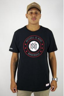 Camiseta Baseball Circle Mitchell & Ness