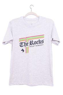 Camiseta Manga Curta Listras The Rocks