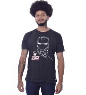 Camiseta Marvel Homem de ferro New York Giants