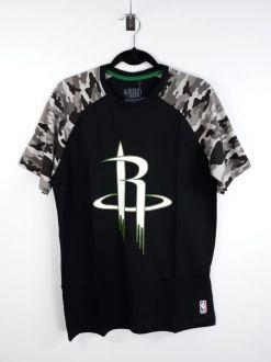 Camiseta NBA Houston Rockets Raglan Camuflado NBA
