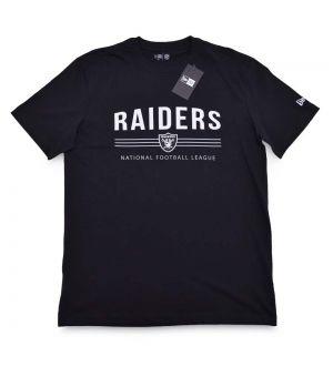 Camiseta Oakland Raiders Essentials Stripes NFL New Era