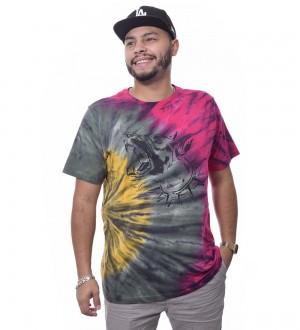 Camiseta The Rocks Tie Dye Manga Curta