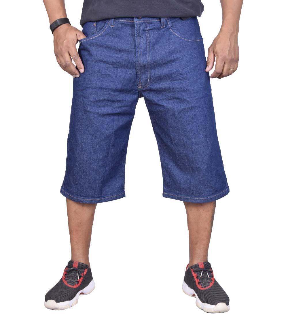 Bermuda Plus Size Jeans Fatal