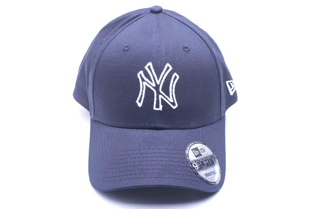 Boné New York Yankeers Outline Pontilhado MLB New Era