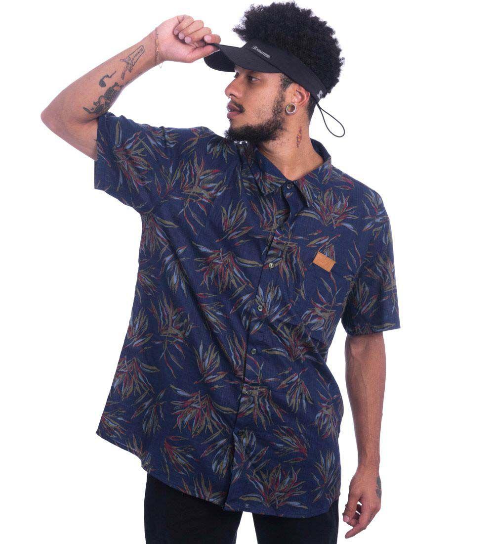 Camisa Plus Size  Jota K Floral