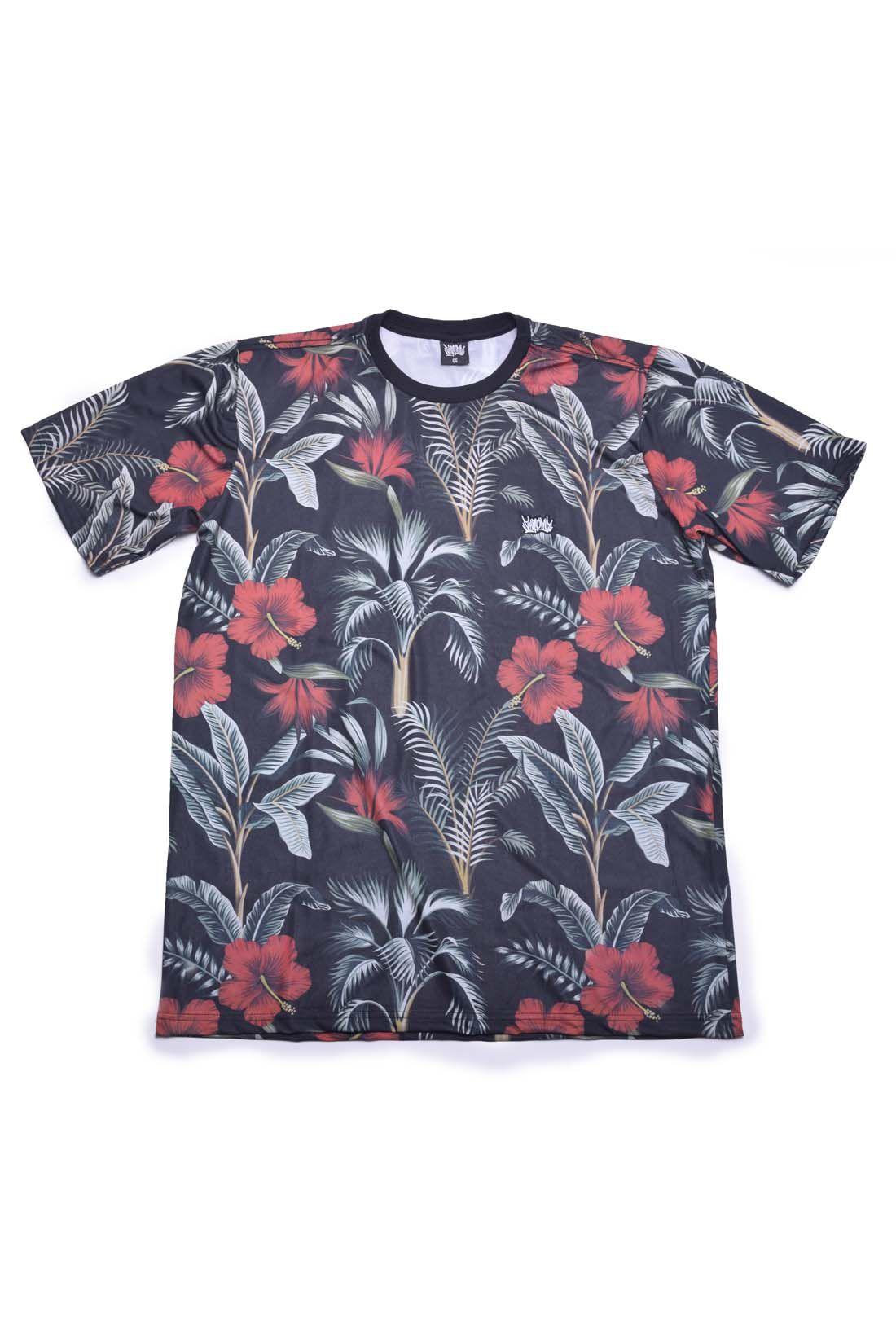Camiseta Floral Chronic