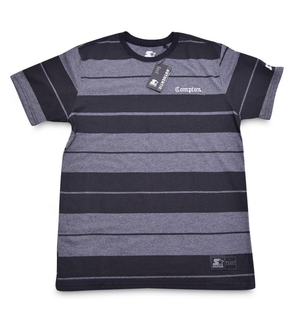 Camiseta Listrada Compton Starter