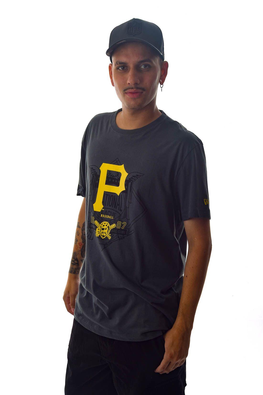 Camiseta MLB Pittsburgh Pirates 1887 New Era