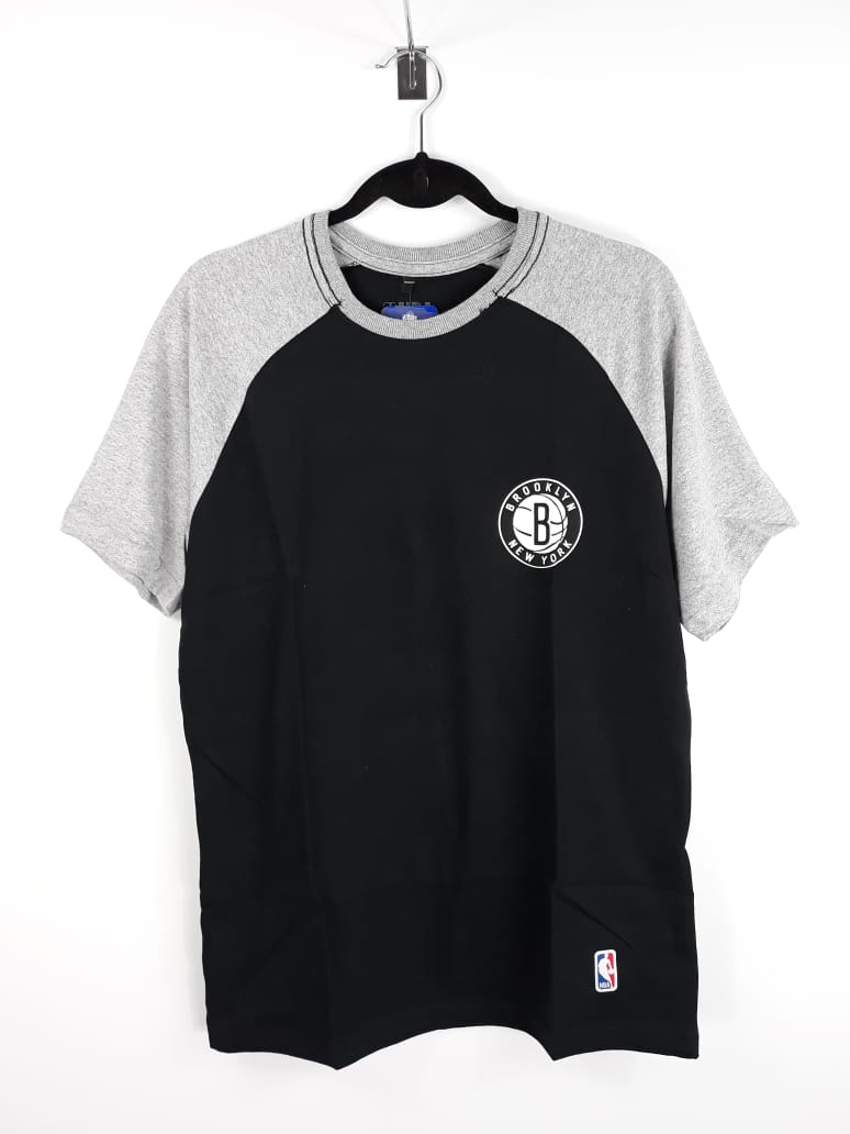 Camiseta NBA Brooklin Nets Raglan EST.2012 NBA