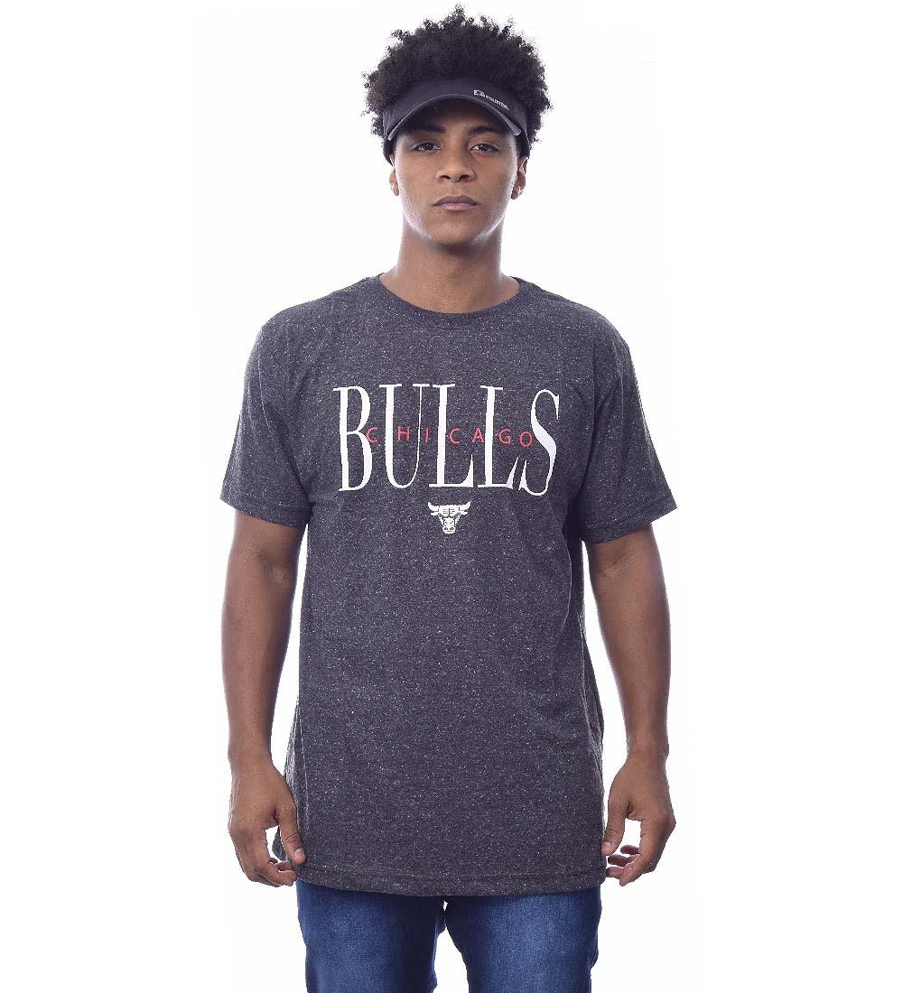 Camiseta NBA Chicago Bulls Manga Curta