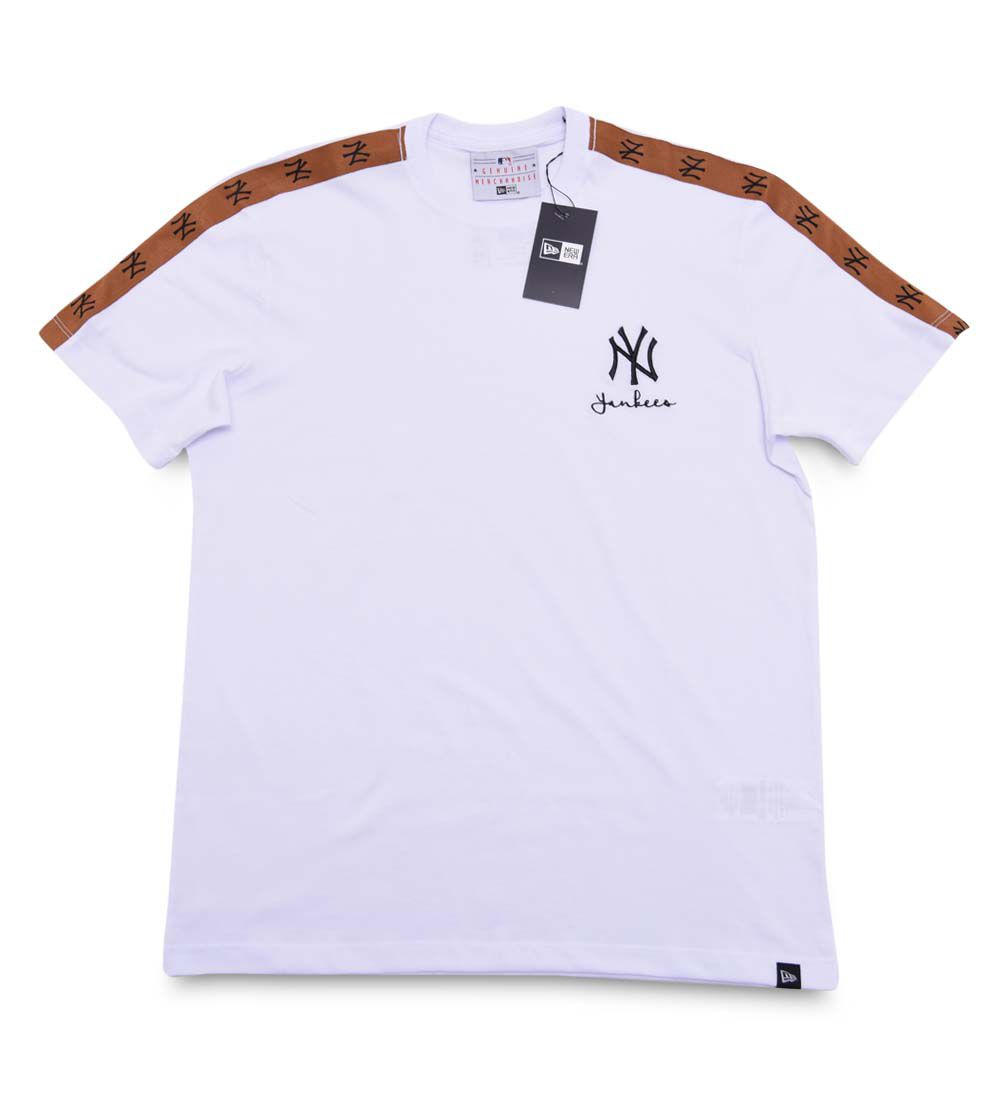 Camiseta New York Yankees Fashion Stripes MLB New Era