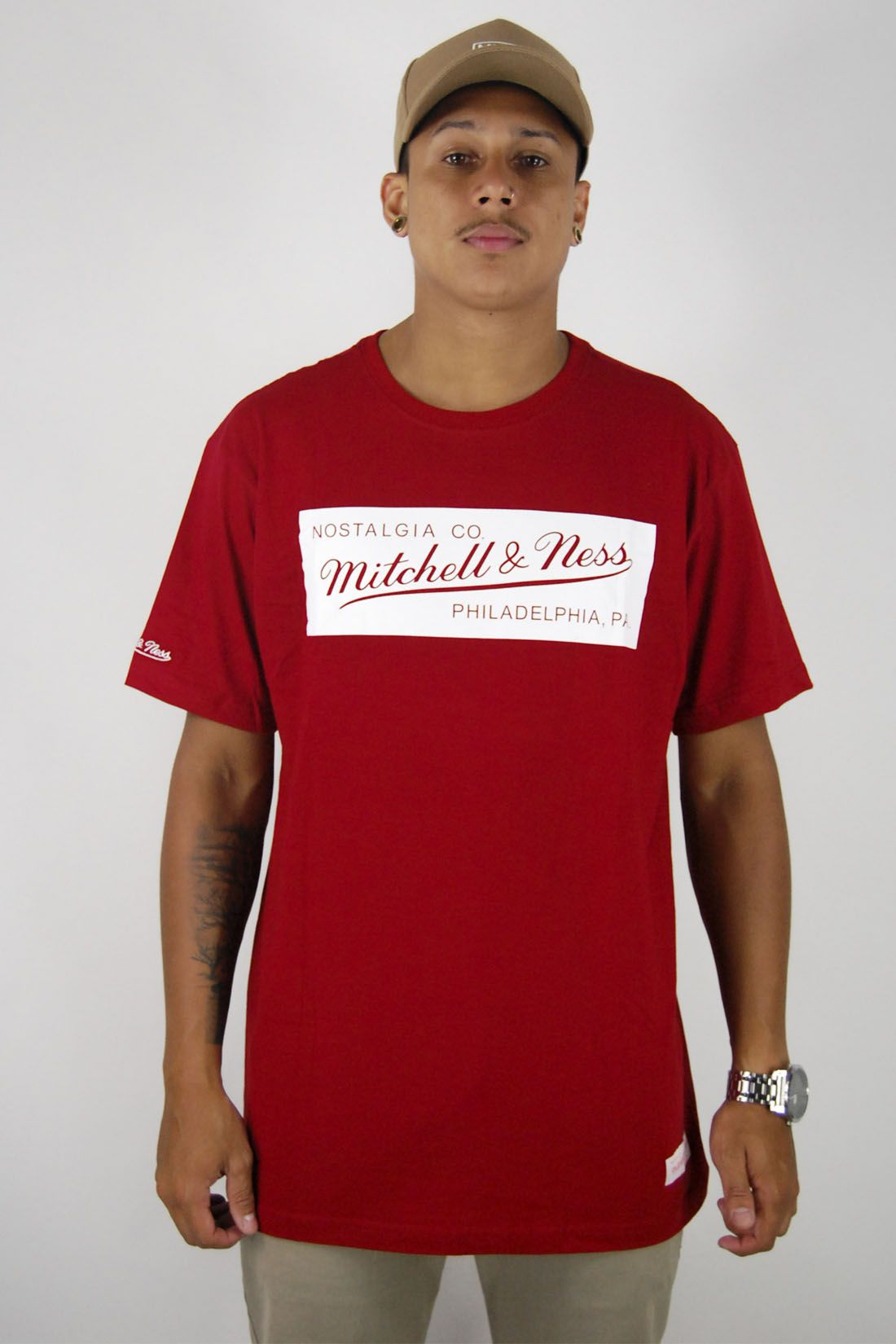 Camiseta Nostalgia CO Mitchell & Ness