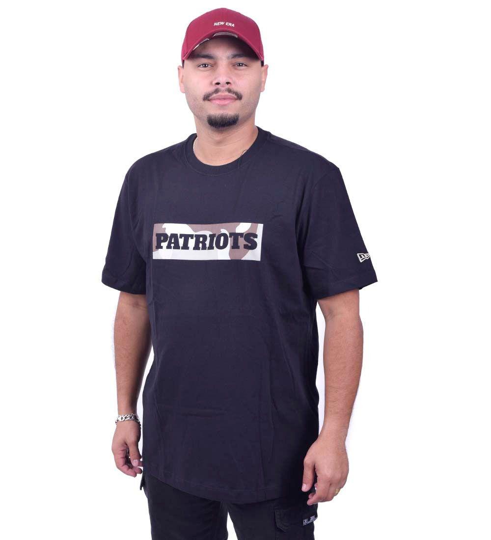 Camiseta Patriots NFL Dsrt Camo B New Era