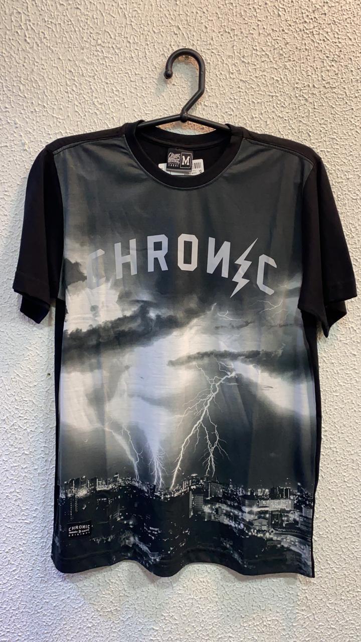Camiseta raio Chronic