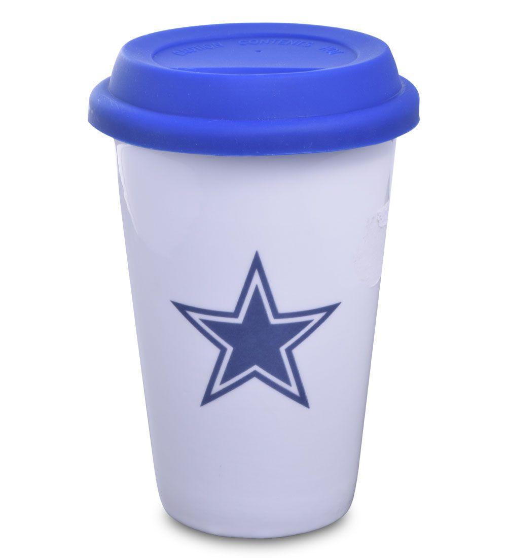 Copo NFL Cowboys Cerâmica