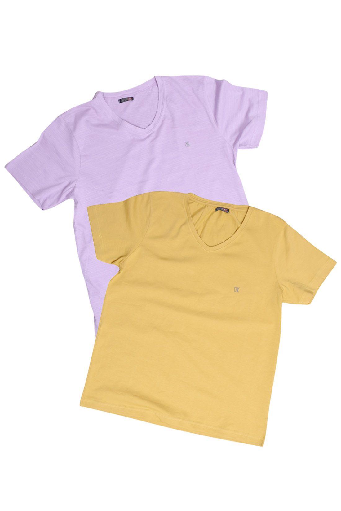 Kit 12 Camisetas Masculinas Básica Lisa Algodão