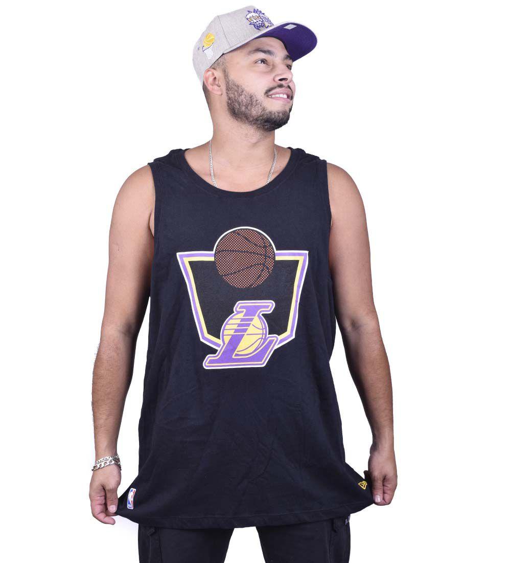 Regata Extra Lakers Plus Size Sp New Era