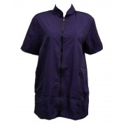 Avental Azul Violeta Medio Anti Pêlos - Liso