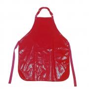 Avental de Plástico Vermelho