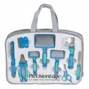 Kit Para Tosa Profissional 9 Pcs Azul Precisionedge