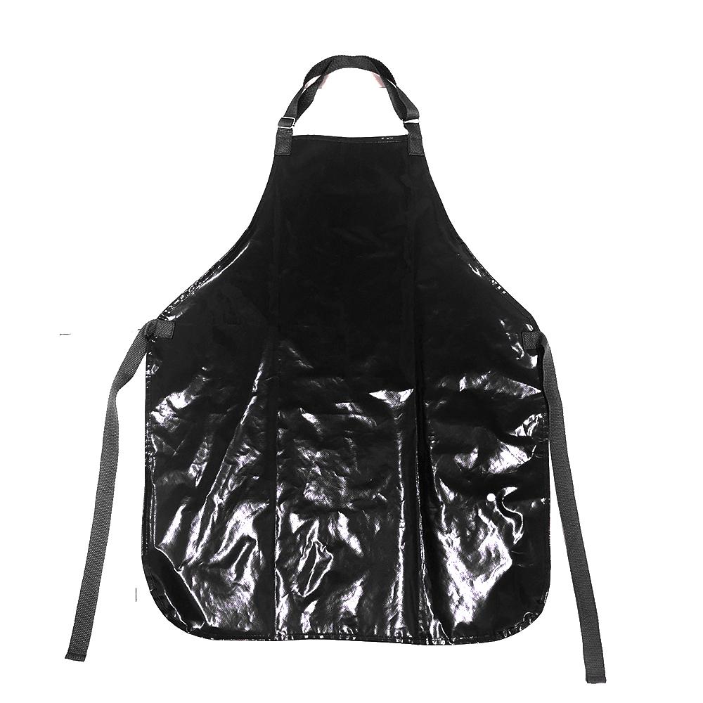 Avental de Plástico Preto